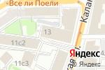 Схема проезда до компании Ватсон в Москве