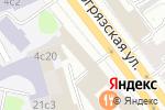 Схема проезда до компании Plan Line в Москве