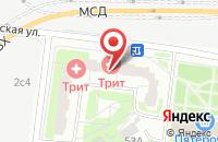 Схема проезда до компании Стройиндустрия в Москве