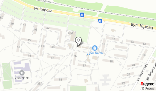Стимул. Схема проезда в Донецке