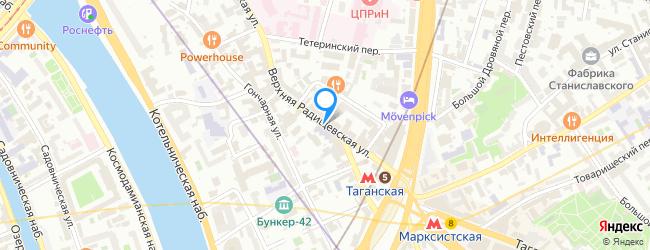 Верхняя Радищевская улица