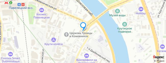 улица Кожевнический Вражек