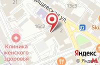 Схема проезда до компании Инфолио в Москве