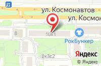 Схема проезда до компании Имплойл в Москве