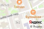 Схема проезда до компании EscapeRooms в Москве