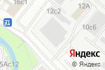Схема проезда до компании Шарм Дизайн в Москве
