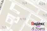 Схема проезда до компании Телеком в Москве