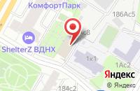 Схема проезда до компании Истлэнд в Москве