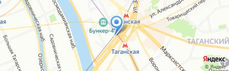 Банкомат КБ Юниаструм Банк на карте Москвы