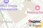 Схема проезда до компании Краском в Москве
