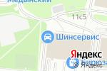 Схема проезда до компании Мечта в Москве