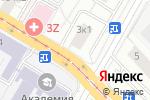 Схема проезда до компании Dental Luxe в Москве