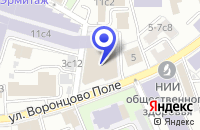 Схема проезда до компании АВТОМОБИЛЬНАЯ КОМПАНИЯ АВТОМАРЬЯЖ в Москве