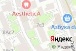 Схема проезда до компании Models 43 в Москве