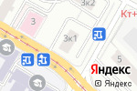 Схема проезда до компании Дентал-Люкс в Москве