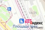 Схема проезда до компании Mon-Voyage в Москве