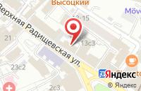 Схема проезда до компании Моделла в Москве