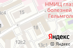 Схема проезда до компании Online Travel в Москве