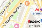 Схема проезда до компании Art space в Москве