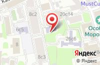 Схема проезда до компании Бизнесфорвард в Москве