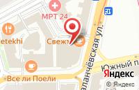 Схема проезда до компании Принтери в Москве