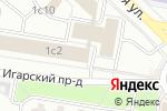 Схема проезда до компании Контур-КСБ в Москве