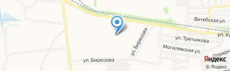 Десятка на карте Донецка