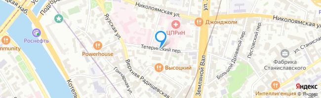 Тетеринский переулок