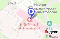 Схема проезда до компании ТФ МУКОС ФАРМА в Москве