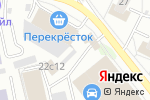 Схема проезда до компании Антарис в Москве