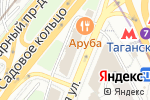 Схема проезда до компании Консультант в Москве
