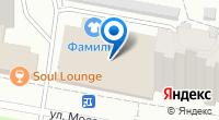 Компания Фамилия на карте