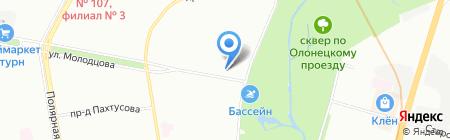 Жасмин на карте Москвы