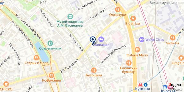 МАГАЗИН МОЛОКО-38 на карте Москве