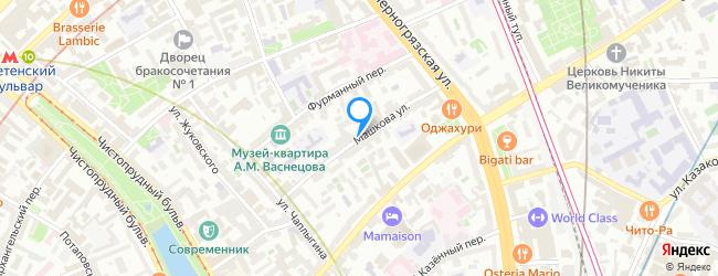 улица Машкова
