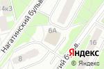 Схема проезда до компании Все для малышей в Москве
