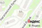 Схема проезда до компании Forza Italia в Москве