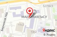 Схема проезда до компании Лоджик Дизайн в Москве