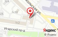 Схема проезда до компании Трейд Лайн в Москве