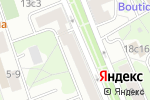 Схема проезда до компании Салон цветов в Москве