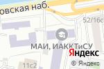 Схема проезда до компании Московский авиационный институт (национальный исследовательский университет) в Москве