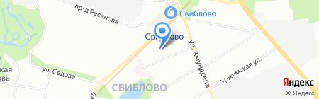 Специальная (коррекционная) школа-интернат №102 на карте Москвы