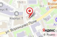 Схема проезда до компании Сививис в Москве