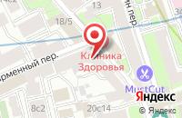 Схема проезда до компании Объединение Независимых Корпоративных Директоров в Москве