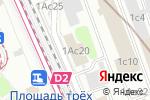 Схема проезда до компании ДУНШЭН в Москве