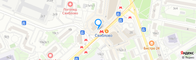 метро Свиблово