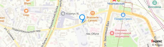 улица Воронцово Поле