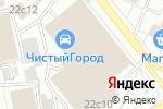 Схема проезда до компании Клетка в Москве