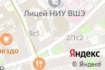 Схема проезда до компании Лавров Студия в Москве