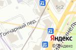Схема проезда до компании Union Place в Москве